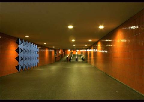 temporäres Graffiti - analoge Pixel zur individuellen Manipulation