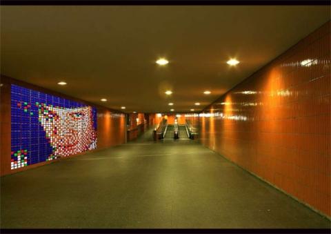 temporäres Graffiti - berührungsselnsitive digitale Pixel zur schnellen Manipulation